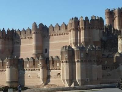 Castillos de Cuellar y Coca - Arte Mudéjar;excursiones organizadas desde madrid trekking material v